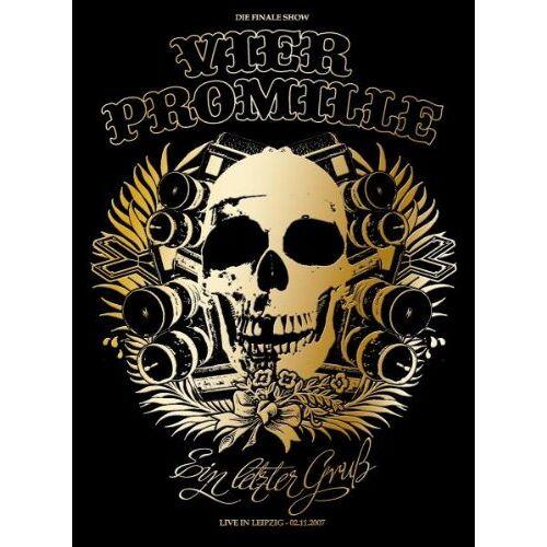 Vier Promille - 4 Promille - Ein Letzter Gruß: Live in Leipzig (3 DVDs) - Preis vom 20.10.2020 04:55:35 h