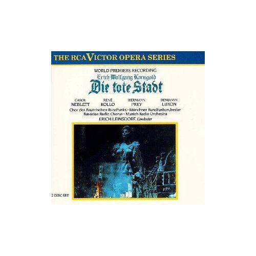 Korngold, Erich Wolfgang - Korngold: Die tote Stadt (Gesamtaufnahme) - Preis vom 14.05.2021 04:51:20 h