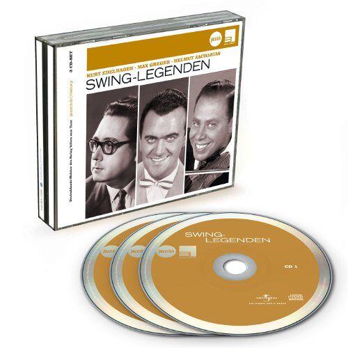Kurt Edelhagen - Swing-Legenden (Jazz Club) - Preis vom 14.04.2021 04:53:30 h