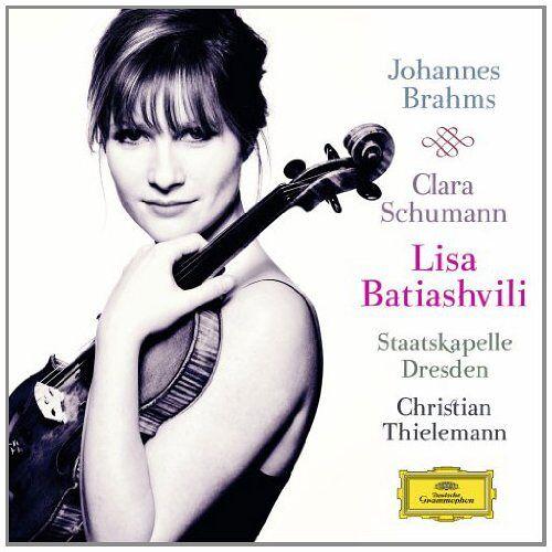 Lisa Batiashvili - Brahms: Violinkonzert Op. 77 / C. Schumann: 3 Romanzen Op. 22 - Preis vom 05.05.2021 04:54:13 h