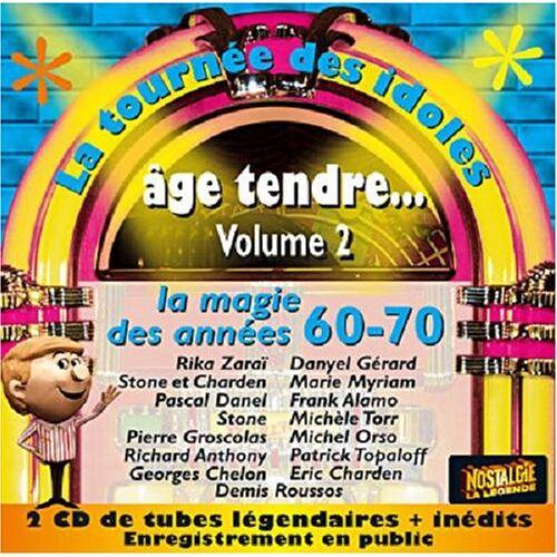 Age Tendre-la Tournee des Idol - Vol.2-Age Tendre-la Tournee de - Preis vom 14.05.2021 04:51:20 h