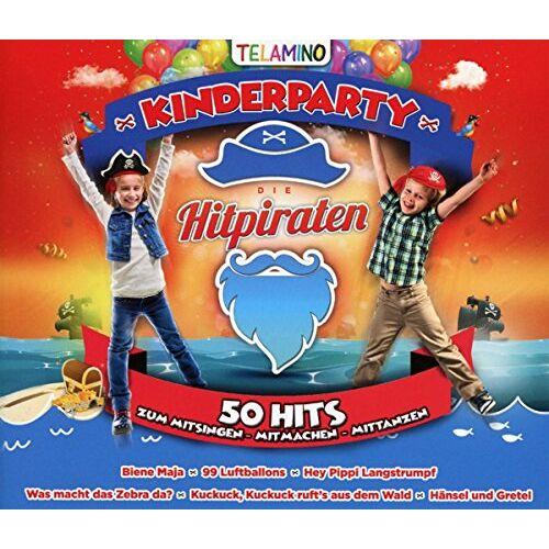 Various - Hitpiraten-Kinderparty - Preis vom 26.10.2020 05:55:47 h