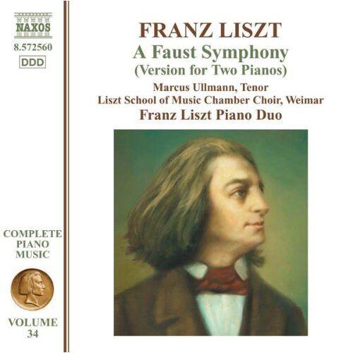 Liszt Piano Duo - Liszt: Eine Faust-Symphonie (für 2 Klaviere) - Preis vom 15.01.2021 06:07:28 h