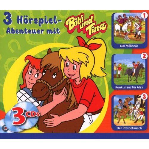 Bibi & Tina - Bibi+Tina 3 CD Box - Preis vom 27.02.2021 06:04:24 h
