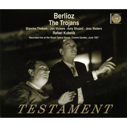 Blanche Thebom - Hector Berlioz: The Trojans (Die Trojaner) - Preis vom 05.09.2020 04:49:05 h