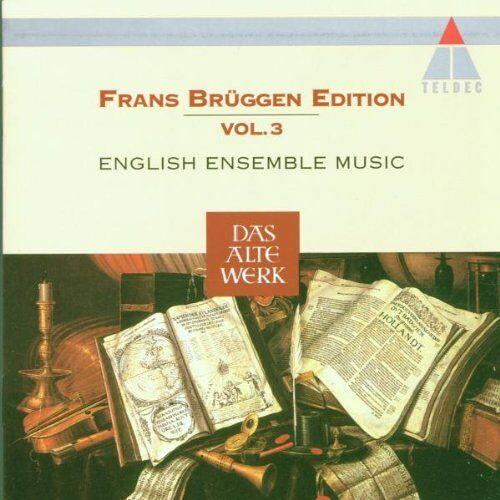 Brüggen Edition 03 - Frans Brüggen Edition Vol. 3 (Englische Ensemblemusik) - Preis vom 20.10.2020 04:55:35 h