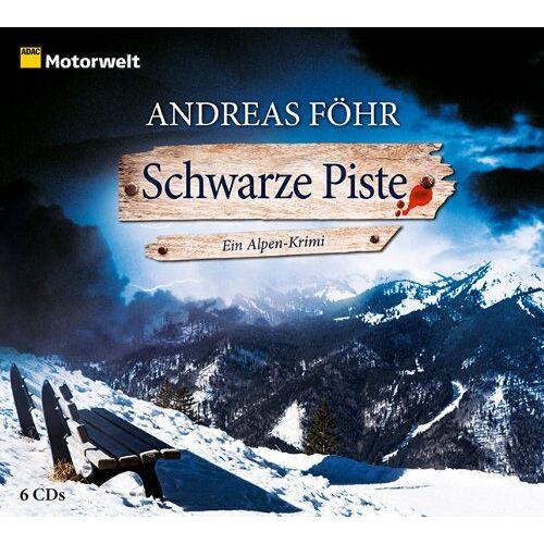 Andreas Föhr - Schwarze Piste (ADAC Motorwelt Hörbuch) - Preis vom 28.02.2021 06:03:40 h