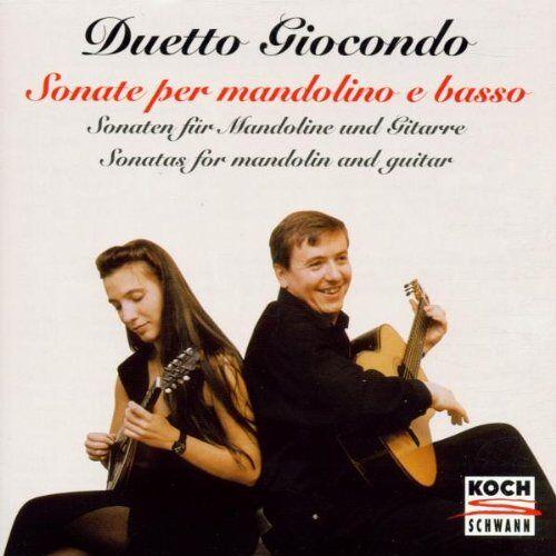 Duetto Giocondo - Sonaten für Mandoline und Gitarre - Preis vom 16.04.2021 04:54:32 h