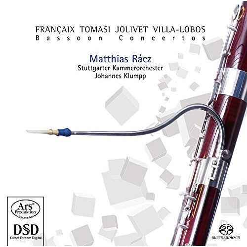 Matthias Racz (Fagott) - Fagottkonzerte - Preis vom 24.02.2021 06:00:20 h