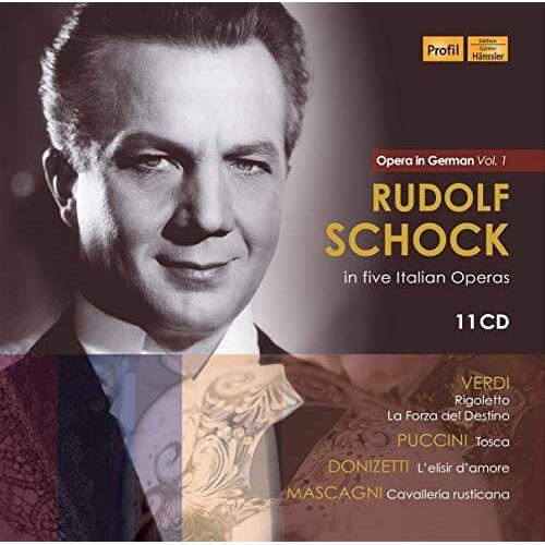 Rudolf Schock - Rudolf Schock in Five Italian Operas-Opera in Ge - Preis vom 23.02.2021 06:05:19 h