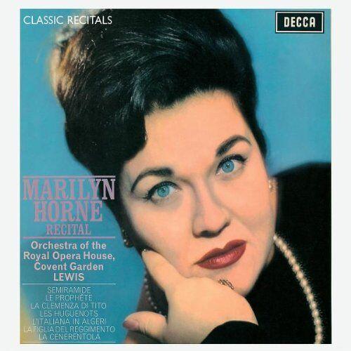 Marilyn Horne - Marilyn Horne Recital - Preis vom 15.04.2021 04:51:42 h