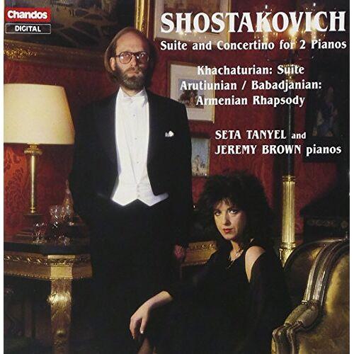Jeremy Brown - Russische Musik für 2 Klaviere - Preis vom 24.02.2021 06:00:20 h