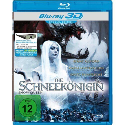 Rene Perez - Die Schneekönigin [3D Blu-ray] - Preis vom 11.05.2021 04:49:30 h