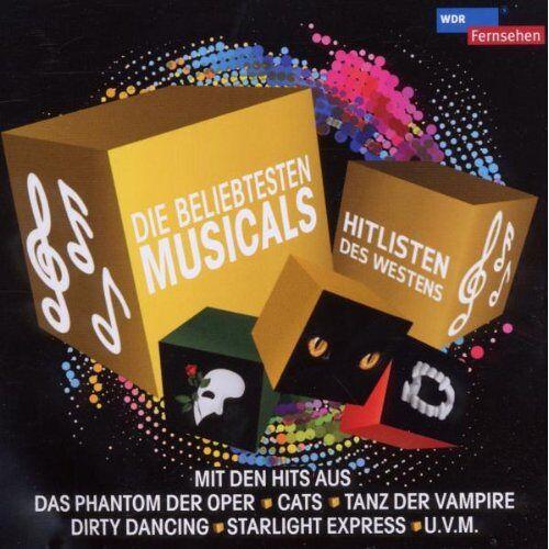 Various - Wdr-Die Beliebtesten Musical-Hits - Preis vom 06.05.2021 04:54:26 h