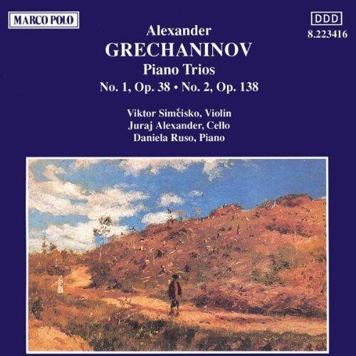 Simcisko - Grechaninov:Piano Trios 1&2 - Preis vom 26.05.2020 05:00:54 h