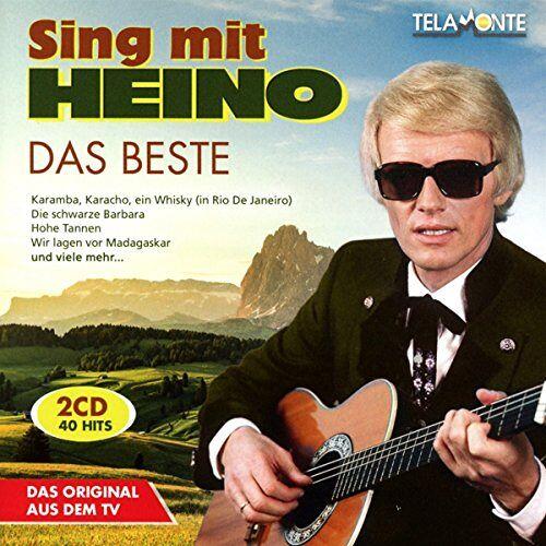 Heino - Das Beste-Sing Mit Heino - Preis vom 14.01.2021 05:56:14 h