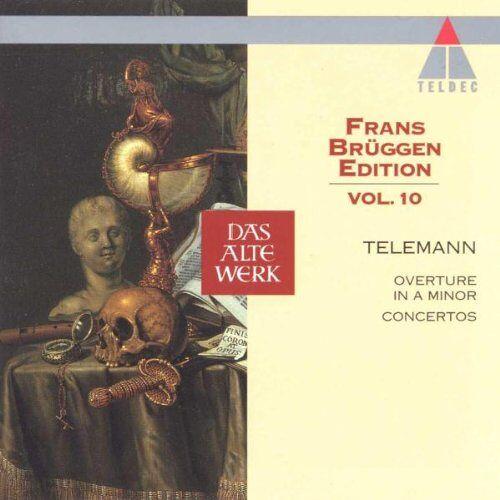 Brüggen Edition 10 - Frans Brüggen Edition Vol. 10 (Telemann: Concerti) - Preis vom 04.10.2020 04:46:22 h