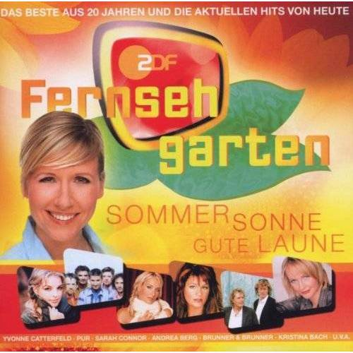 Various - Zdf-Fernsehgarten-Sommer,Sonne,Gute Laune - Preis vom 16.01.2021 06:04:45 h