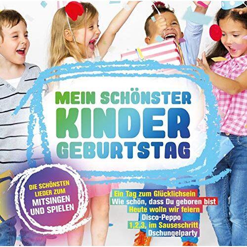 Various - Mein Schönster Kindergeburtstag - Preis vom 12.05.2021 04:50:50 h