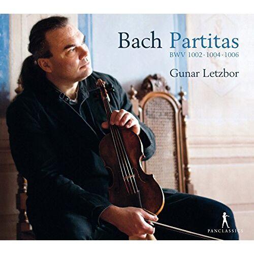 Gunar Letzbor - J.S.Bach: Partiten BWV 1002 , 1004 , 1006 - Preis vom 18.04.2021 04:52:10 h