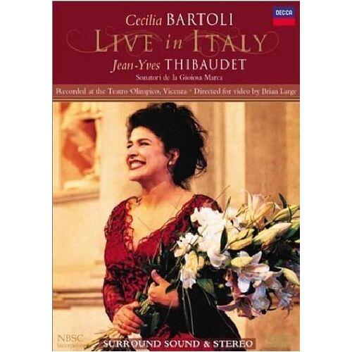 Cecilia Bartoli - Bartoli Live in Italy (NTSC) - Preis vom 19.01.2020 06:04:52 h