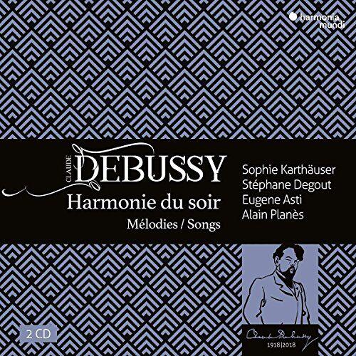 Sophie Karthaeuser - Debussy: Harmonie du soir - Lieder - Preis vom 09.12.2019 05:59:58 h