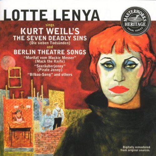 Lotte Lenya - Lenya Sings Weill - Preis vom 20.10.2020 04:55:35 h