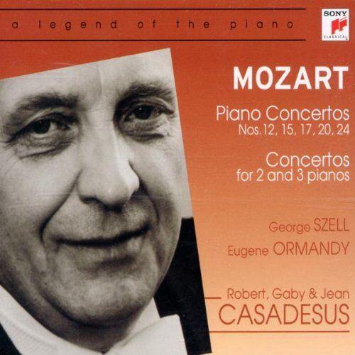 Robert Casadesus - Mozart:Piano 12,15, - Preis vom 20.10.2020 04:55:35 h
