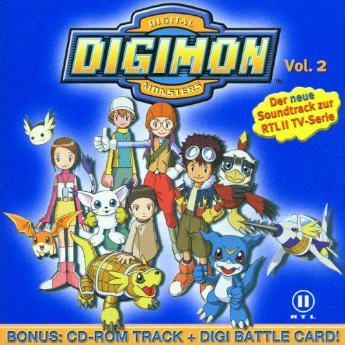Various - Digimon - Digital Monsters Vol. 2 - Preis vom 18.10.2020 04:52:00 h