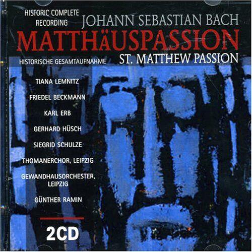 Günther Ramin - Matthäuspassion (Ga) - Preis vom 05.05.2021 04:54:13 h