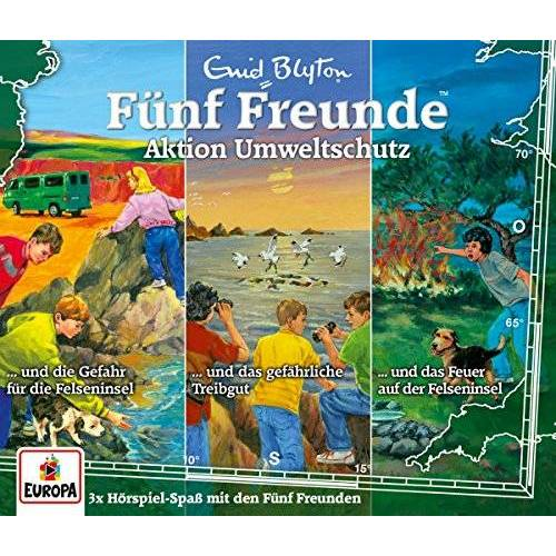 Fünf Freunde - 27/3er Box-Aktion Umweltschutz (69,96,113) - Preis vom 24.02.2020 06:06:31 h