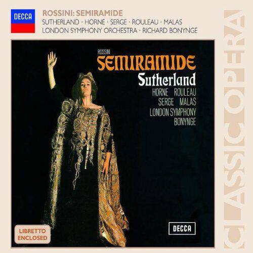 J. Sutherland - Semiramide - Preis vom 16.04.2021 04:54:32 h