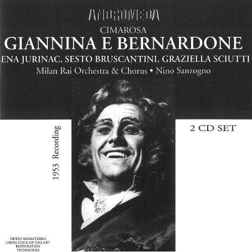 Domenico Cimarosa - Cimarosa:Giannina E Bernardone - Preis vom 13.05.2021 04:51:36 h