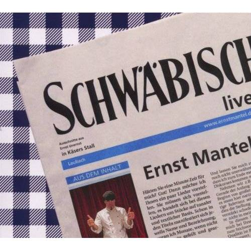 Ernst Mantel - Schwäbisch Live - Preis vom 23.01.2021 06:00:26 h