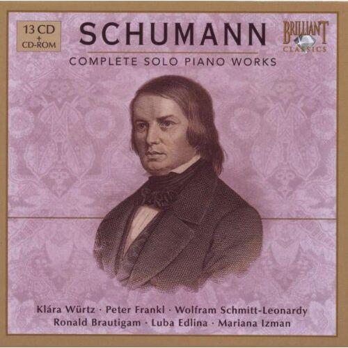 Klara Würtz - Schumann: Complete Piano Works - Preis vom 24.02.2021 06:00:20 h