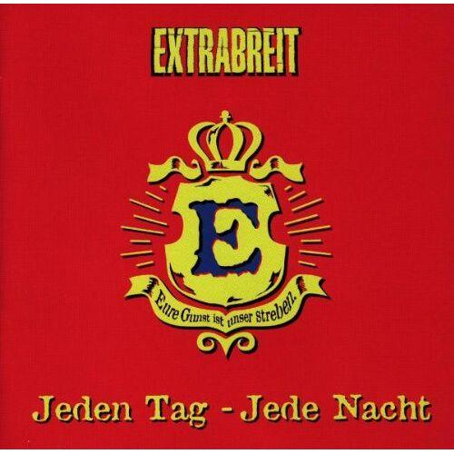 Extrabreit - Jeden Tag,Jede Nacht - Preis vom 01.12.2019 05:56:03 h