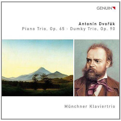 Münchner Klaviertrio - Dvorak: Klaviertrio Op.65/ Dumky Trio Op.90 - Preis vom 20.10.2020 04:55:35 h