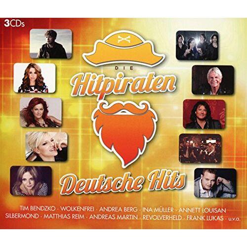 Various - Hitpiraten,Deutsche Hits - Preis vom 14.04.2021 04:53:30 h