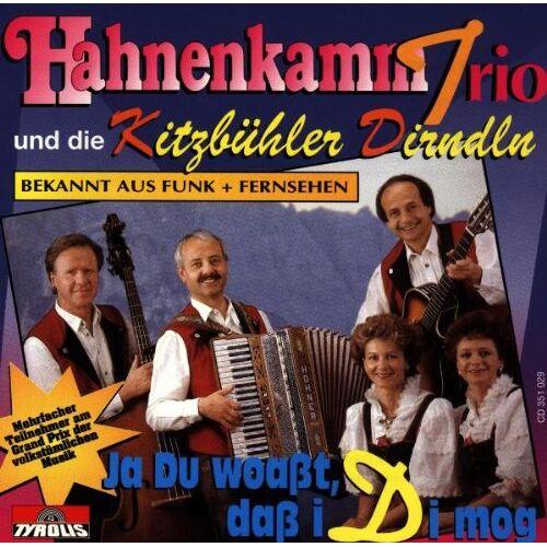 Hahnenkamm Trio - Ja du Woasst,Dass I di Mog - Preis vom 24.02.2021 06:00:20 h