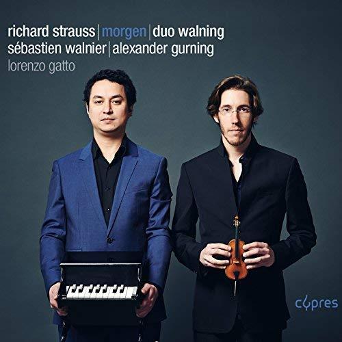 Duo Walning - Strauss: Morgen - Lieder und Klaviermusik - Preis vom 20.10.2020 04:55:35 h