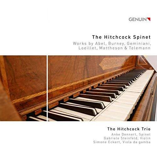 The Hitchcock Trio - The Hitchcock Spinet - Preis vom 14.05.2021 04:51:20 h