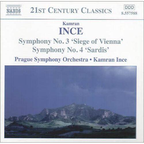 Kamran Ince - Symphonie Nr. 3+4 - Preis vom 09.04.2021 04:50:04 h