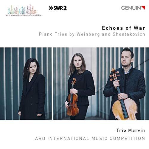Trio Marvin - Weinberg/Schostakowitsch: Echoes of War - Klaviertrio Op.24 / Klaviertrio Nr. 2, Op. 67 - Preis vom 20.10.2020 04:55:35 h