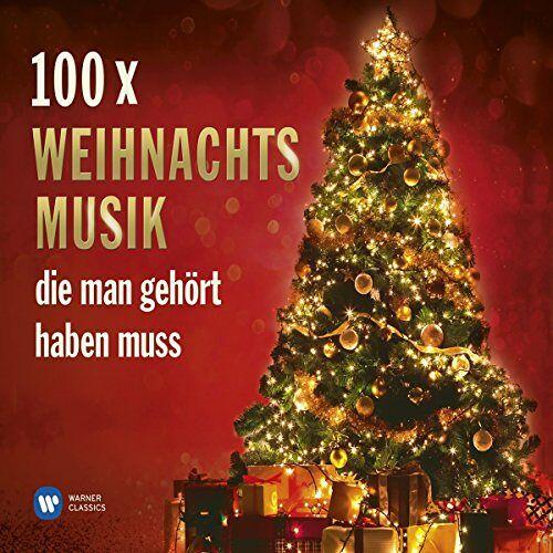 Various - 100 x Weihnachtsmusik, die man gehört haben muss - Preis vom 14.01.2021 05:56:14 h
