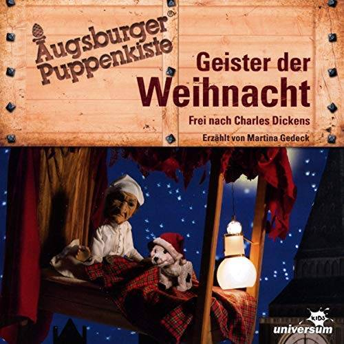Augsburger Puppenkiste - Augsburger Puppenkiste-Geister der Weihnacht - Preis vom 06.05.2021 04:54:26 h