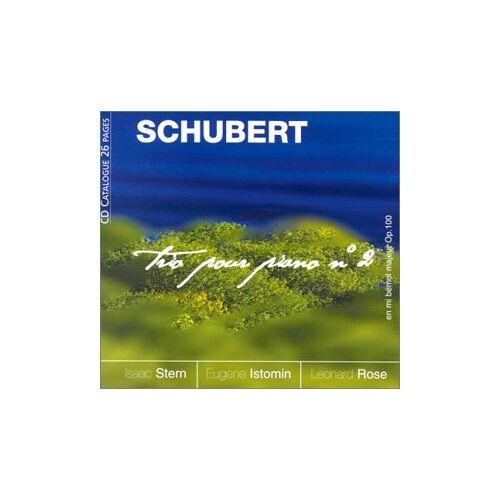 Stern - Schubert:Trio pour Piano No.2 - Preis vom 18.10.2020 04:52:00 h