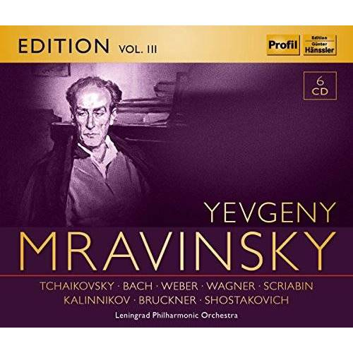 Evgeny Mravinsky - Evgeny Mravinsky Edition Vol.3 - Preis vom 17.10.2020 04:55:46 h