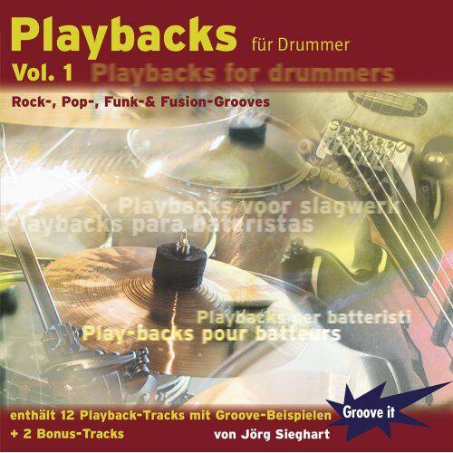 Jörg Sieghart - Playbacks für Drummer Vol. 1 - Playalong Übungs-CD für Schlagzeuger / Drums - Preis vom 06.09.2020 04:54:28 h