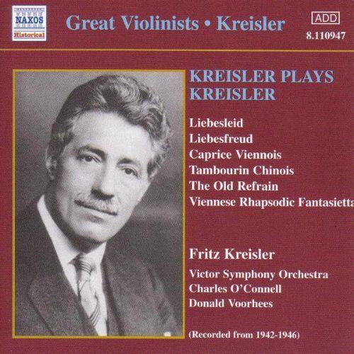 Fritz Kreisler - Kreisler Spielt Kreisler - Preis vom 18.04.2021 04:52:10 h