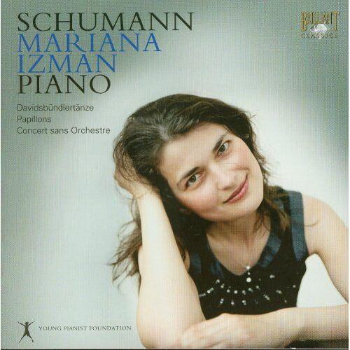 Mariana Izman (Piano) - Schumann: Piano - Mariana Izman - Preis vom 09.05.2021 04:52:39 h